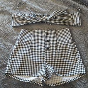 Cute Pin Up Style 2 Piece